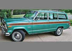 1974 JEEP Grand Wagoneer 4X4