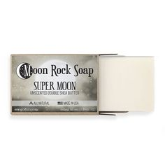 Moon Rock, Super Moon, Shea Butter, Soap, How To Make, Handmade, Products, Hand Made, Bar Soap