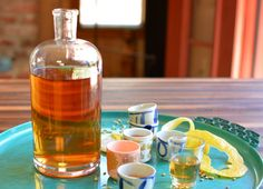 You can call this plum wine but it's got plenty of vodka to make it a full-bodied plum liqueur. Make this now with the plums in season! Reap the benefits around Christmas.