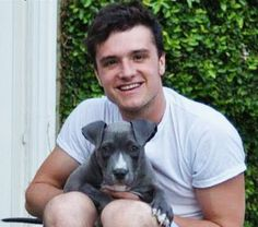 Whether you're team Peeta or team Gale, we can all agree that Josh Hutcherson's new Pit Bull puppy is ridicuously adorable Whether you're…