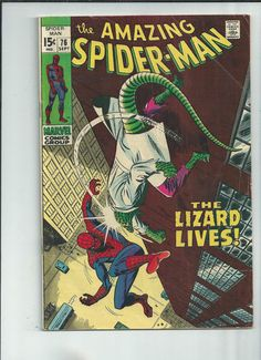 AMAZING SPIDER-MAN #76 Silver Age find! 3rd appearance of Lizard! http://r.ebay.com/rC9JT8