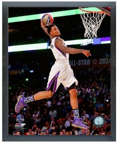 Ben McLemore Slam Dunk Contest 2014 NBA All-Star Game- 11 x 14 Framed Photo