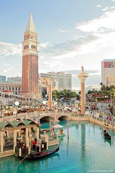 Next Best Thing to Venice Italy:  The Venetian Gondola Ride Las Vegas // localadventurer.com