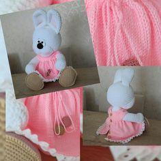 tender bunny Crochet Baby Toys, Easter Crochet, Crochet Yarn, Crochet Stitches, Baby Knitting, Crochet Patterns, Amigurumi Toys, Beautiful Crochet, Crochet Projects