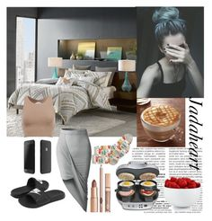 """Day Off"" by jadaheart ❤ liked on Polyvore featuring Ink & Ivy, LE3NO, NIKE, Hamilton Beach, HOT SOX and The Cellar"