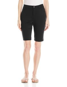 Lee Women's Relaxed Fit Robin Knit Waist Bermuda Short * You can find more details by visiting the image link.