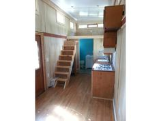 24×8 Tiny House ONE OF A KIND***Must See. i like this layout