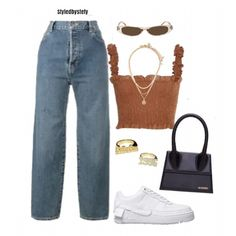 Spent a long time trying to figure out a new layout today, what do you think? Cute Casual Outfits, Retro Outfits, Stylish Outfits, Vintage Outfits, Look Fashion, Teen Fashion, Korean Fashion, Mode Outfits, Girl Outfits