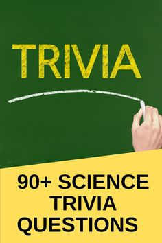 """The beauty of science is that it's ever-changing, so nobody will ever get tired of science trivia questions. Throughout history, a lot of things that were considered """"facts"""" got hit in the head thanks to new scientific research and discoveries, so there's no shortage of questions and answers like the ones below #trivia #trivianight #TriviaTuesday #TrivialPursuit #triviathursday #trivial #triviagame #triviawinners #triviaquiz #triviacrack #triviaquestions #triviaquestion #TriviasFutbol"""