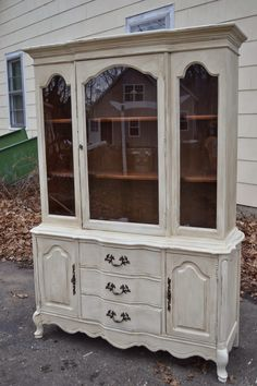 Heir and Space: A French Country China Hutch