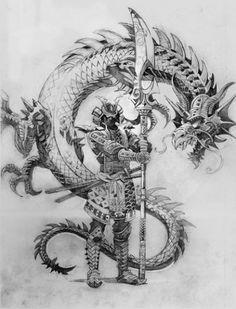 Значение тату «Драконы»