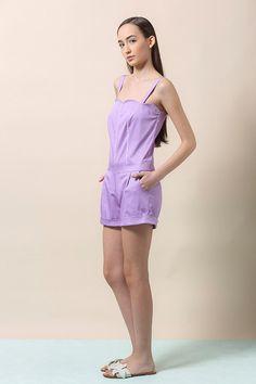 Womens jumpsuit purple jumpsuit womens romper purple by ilovemona
