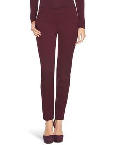 White House | Black Market Twill Slim Ankle Pants  #whbm