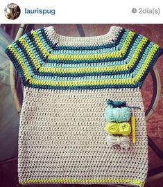 sweter crochet pattern by moushop on Etsy Crochet Baby Dress Pattern, Crochet Cardigan, Knit Or Crochet, Crochet For Kids, Crochet Stitches, Crochet Patterns, Knitting Yarn, Baby Knitting, Easy Crochet Slippers