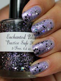 Enchanted Polish Practice Safe Hex over Enchanted Polish Magic Mirror