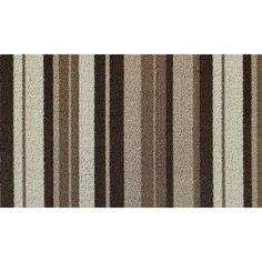 Multy Home - Lexington Multi-Colored Cliff Stripe 20 in. x 36 in. Polypropylene Door Mat - For indoor use. Machine made from durable polypropylene. Home Depot, Rugs, Classic, Quebec, Cliff, Canada, Patio, Design, Kitchen