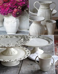 Modern heirloom handmade pottery from Frances Palmer.