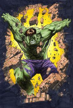 Hulk by David Newbold