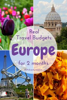 Traveling for a long period of time in western Europe isn't cheap, so you need to plan a budget. Here's how much we spent traveling in Europe for 2 months.