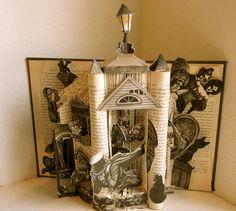 Edgar Allan Poe Altered Book Art