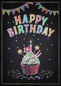 Happy birthday Cupcake                                                                                                                                                                                 More