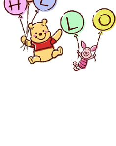 Winnie The Pooh Gif, Winnie The Pooh Drawing, Winnie The Pooh Pictures, Winnie The Pooh Friends, Disney Drawings, Cute Drawings, Cute Disney Wallpaper, Cute Gif, Cute Stickers