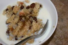 Creamy Quinoa Porridge from  Passionate Homemaking (this sounds closest to what I ate on the Inca Trail)