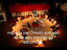 Atupo Templo de Pai Oxalá,com a voz de Pai Elcio...