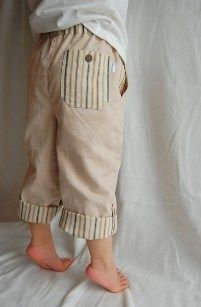 Tutorial: Little boys' pants | Sewing | CraftGossip.com