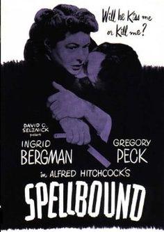 Reel Librarians | Ingrid Bergman gets mistaken for a spinster librarian in 'Spellbound' (1945)
