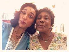 Freneticamente encantadora, Dhu Moraes alegra nosso núcleo caipira. Dona de um coração generoso e voz de passarinho sua virgem Manuela me deleita. Obrigada amada Dhu. #DhuMoraes #AsFrenéticas #EtaMundoBom