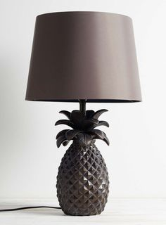 Bronze Pineapple Table Lamp - BHS