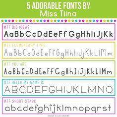Loving these fonts from #MissTiina! Other favorites: MTF Uppercase Poster and MTF Mr. & Mrs. Right Now.  #gcfontfaves #fontaddict #teachersofinstagram #teachersfollowteachers