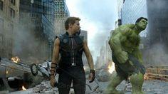 Hawkeye and The Hulk (The Avengers)