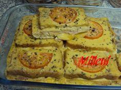 Torta Rápida de queijo e presunto
