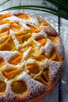Jogurtowe ciasto z brzoskwiniami – Smaki na talerzu Food Inspiration, Waffles, Cooking Recipes, Apple, Baking, Breakfast, Cakes, Kitchen, Yogurt Cake