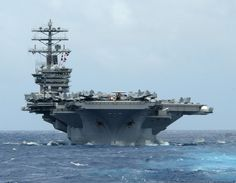 USS Nimitz...friend served on this carrier, Black hawk helicopters as well