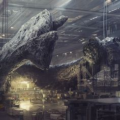 Neill Blomkamp gave us a look at a mysterious ALIEN verse project via some provocative and impressive concept art. The director's answer regarding whether or not his personal ALIEN project might be realized is a bit surprising. Xenomorph, Concept Art Alien, Alien Film, Alien 2, Alien Planet, Science Fiction, Neill Blomkamp, Alien Isolation, Predator Alien