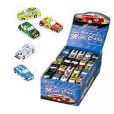 Foil Wrapped Mini Cars (1/2 Oz., 100 Count), 1/2 Oz. Solid Molded Milk Chocolate Bite-sized Cars. Buy at http://www.SweetCityCandy.com