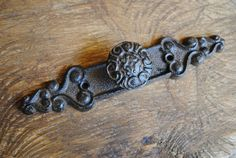 Embossed Button Drawer Pull