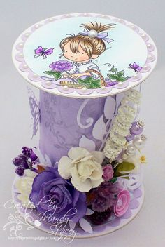 A Sprinkling of Glitter: Lili Of The Valley GDT - Basket Of Roses Cotton Reel