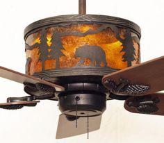 Rustic Cabin Ceiling Fans: Rustic Ceiling Fan. Cottage ...,Lighting