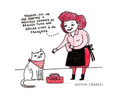 gemmacorrell:  the spoiled cat