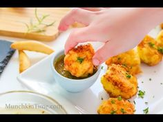 Yummy Spanish Cod Fritters are made of simple ingredients like wild-caught cod potatoes garlic parsley & flour. Cod Recipes, Fish Recipes, Seafood Recipes, Yummy Recipes, Best Appetizer Recipes, Best Appetizers, Party Appetizers, Dinner Recipes, Cod Fritters Recipe