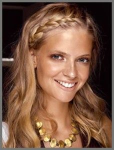 30 Pretty Braided Hairstyles for All Occasions - Pretty Designs # summer Braids twists Pretty Braided Hairstyles, Twist Braid Hairstyles, Fancy Hairstyles, Twist Braids, Headband Hairstyles, Summer Hairstyles, Hairstyle Ideas, Summer Braids, Braids For Long Hair
