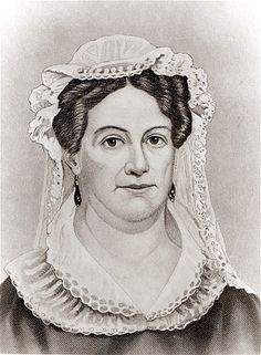 Rachel Jackson.  Married to Andrew Jackson, who was in office 1829-1837. ~ (© The Art Gallery Collection/Alamy)