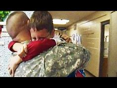 """[VIDEO] National Guard Soldier, Home from Deployment, Surprises Son at School  