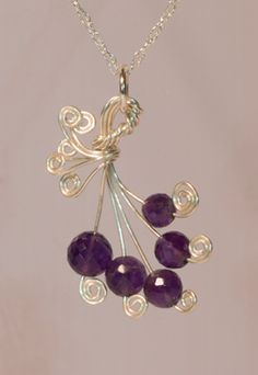 Violet Bouquet - this would be a pretty design to do with birthstones for all my kiddos! :)