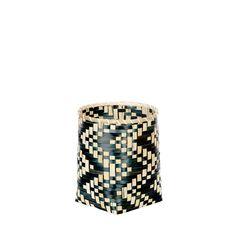 Kosz bambusowy Biksa'kki S #kosz #koszyk #basket #bambus #bamboo #homemade #manufcture #design #rękodzieło #unique #limitededition #amiou #onemarket.pl