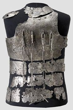 Armour sold on auction.